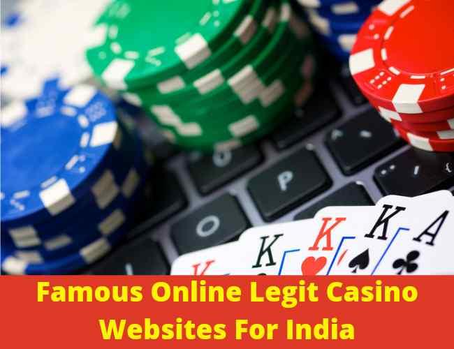 famous Online legit Casino websites
